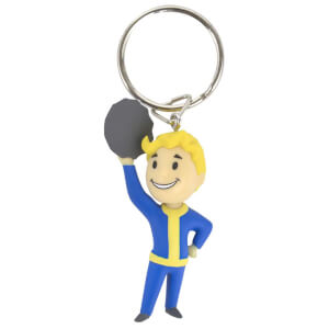 Official Fallout Vault Boy Barter Keyring/Keychain