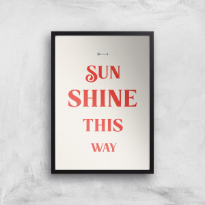 Hermione Chantal Sunshine This Way Giclee Art Print