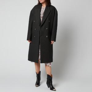 Isabel Marant Women's Idalia Coat - Anthracite Grey