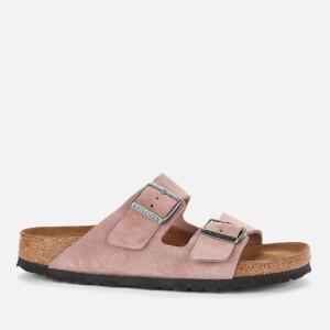 Birkenstock Women's Arizona Suede Double Strap Sandals - Lavender Blush