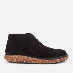 Birkenstock Men's Milton Suede Desert Boots - Black