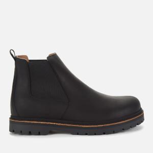 Birkenstock Men's Stalon Nubuck Chelsea Boots - Black