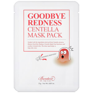Benton Goodbye Redness Centella Mask Pack 20g