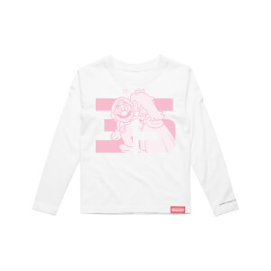 Mario and Peach Long Sleeve T-Shirt (Kids) - Super Mario Bros. 35th Anniversary