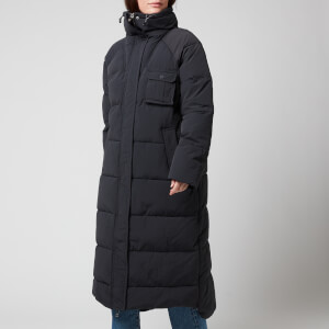 Ganni Women's Heavy Tech Puffa Coat - Black