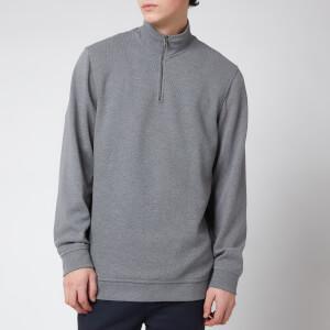 Ted Baker Men's Rebal 1/4 Zip Sweatshirt - Grey Marl