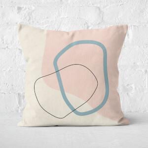 Pretty Splurge Square Cushion