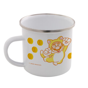 Cat Mario Enamel Mug - Super Mario Bros. 35th Anniversary