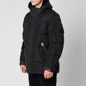 Mackage Men's Riley Medium Down Sheepskin Hood Insert Jacket - Black