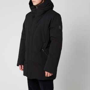 Mackage Men's Edward NFR Heavy Down Hooded Parka - Black