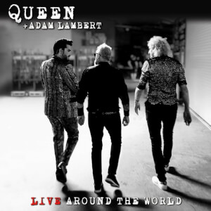 Queen & Adam Lambert - Live Around The World CD/Blu-Ray Set