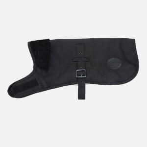 Barbour Casual Matt Wax Dog Coat - Black