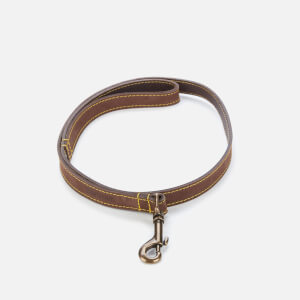 Barbour Casual Leather Dog Lead - Brown