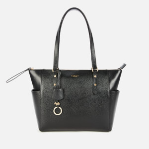 Radley Women's Silk Street Large Ziptop Shoulder Bag - Black
