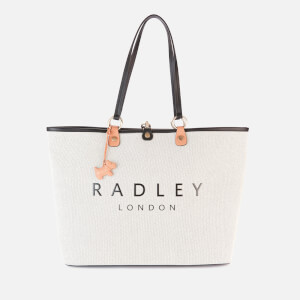 Radley Women's Addison Gardens Medium Open Top Tote Bag - Natural