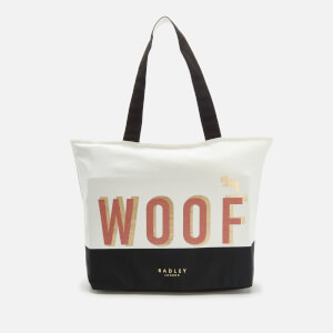 Radley Women's Woof Large Ziptop Tote Bag - Natural