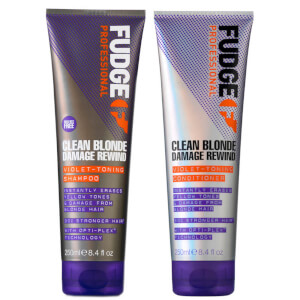 Clean Blonde Damage Rewind Shampoo and Conditioner 250ml