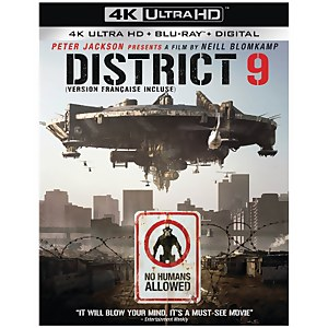 Disctrict 9 - 4K Ultra HD (Includes 2D Blu-ray)