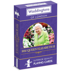 Waddingtons Number 1 Playing Cards - HM Queen Elizabeth II Edition