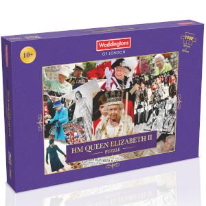 1000 Piece Jigsaw Puzzle - HM Queen Elizabeth II Montage Edition