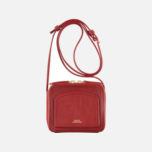 A.P.C. Women's Mini Louisette Bag - Dark Red