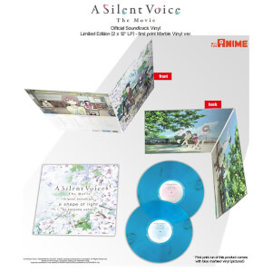 A Silent Voice Limited Edition 2x Blue LP