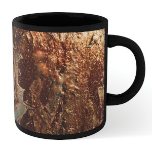 Gold Full Mug - Black