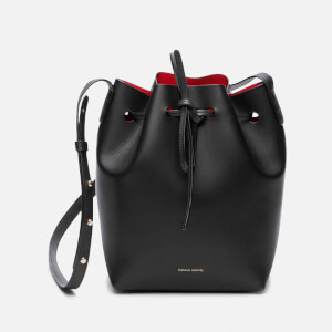 Mansur Gavriel Women's Mini Bucket Bag - Black/Flamma