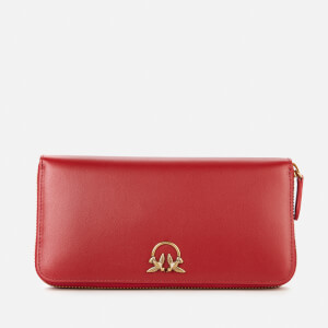Pinko Women's Ryder Wallet Zip Around L Simply - Ruby Red