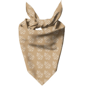 Nude Anchor Dog Bandana