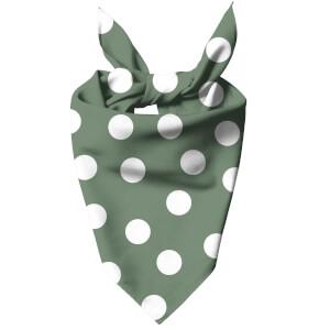 Khaki Polka Dots Dog Bandana