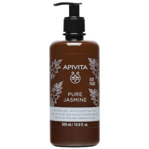 APIVITA Pure Jasmine Shower Gel with Essential Oils 16.9 fl.oz