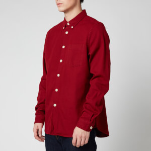 PS Paul Smith Men's Tailored Fit Shirt - Blood Red