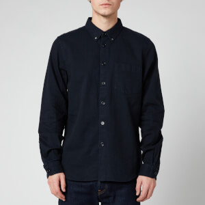 PS Paul Smith Men's Tailored Fit Shirt - Dark Navy