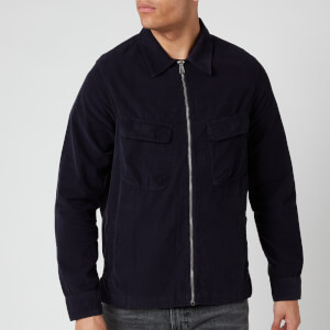 PS Paul Smith Men's Zipped Overshirt - Dark Navy