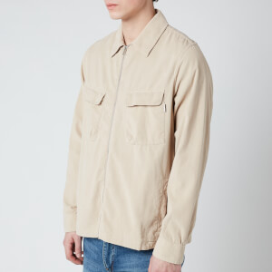 PS Paul Smith Men's Zipped Overshirt - Beige