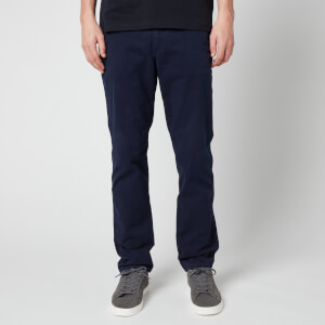 PS Paul Smith Men's Regular Fit Stitched Chinos - Dark Navy