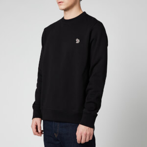PS Paul Smith Men's Zebra Logo Regular Fit Sweatshirt - Black