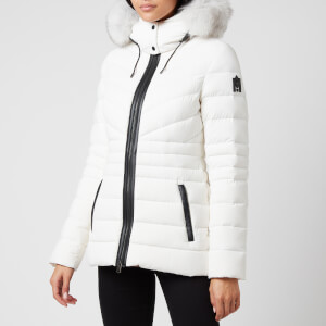 Mackage Women's Patsy-Bx Hooded Light Down Jacket - Off White