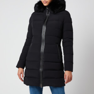 Mackage Women's Calla-Bx Light Down Coat with Hood - Black