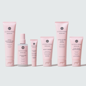 GLOSSYBOX Skincare Dry Skin Bundle (Worth $128.00)