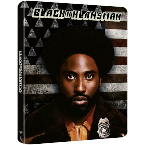 BlacKkKlansman - Steelbook 4K Ultra HD (Blu-ray 2D Inclus) - Exclusivité Zavvi