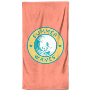 Summer Vibes Beach Towel