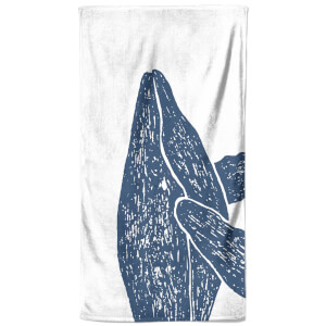 Hey Look, A Whale Beach Towel