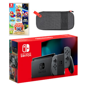 Nintendo Switch (Grey) Super Mario 3D All-Stars Pack