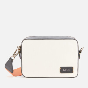 Paul Smith Women's Canvas Camera Bag - White