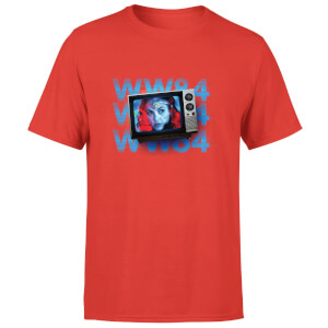 Wonder Woman WW84 Retro TV Men's T-Shirt - Rood