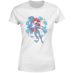 Wonder Woman Amazonian Women's T-Shirt - Wit