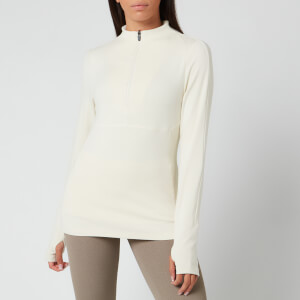 Varley Women's Formosa Half Zip - Bone White