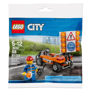LEGO City: Road Worker Mini Figure (30357)
